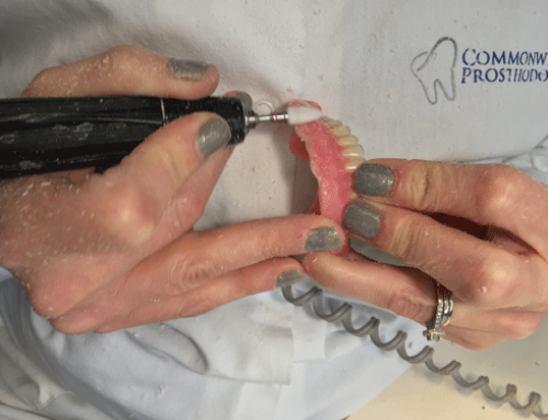 Same Day Denture Repairs at Commonwealth Prosthodontics